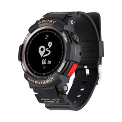 Bluetooth F6 Smartwatch IP68 Waterproof Heart Rate Monitor Fitnes