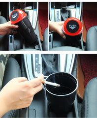 Fashion Car trash can garbage Attractive storage box Garbage Dust