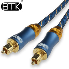 EMK 5.1 Digital Sound SPDIF Optical Cable Toslink Cable Fiber Opt