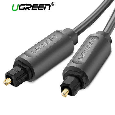 Ugreen Digital Optical Audio Cable Toslink Gold Plated 1m 2m 3m S