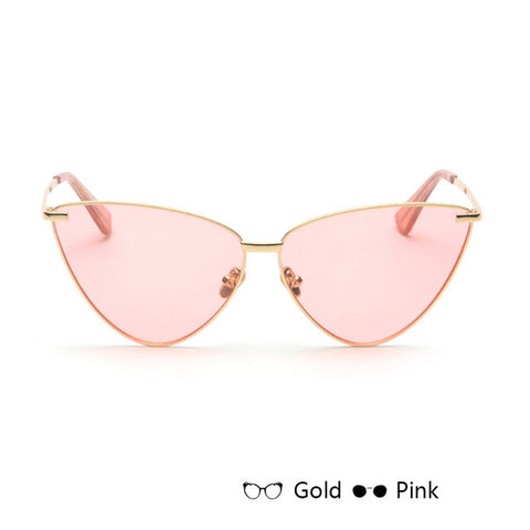VRCHIC 2018 New Sexy Lady Retro Cat Eye Sunglasses Women Vintage