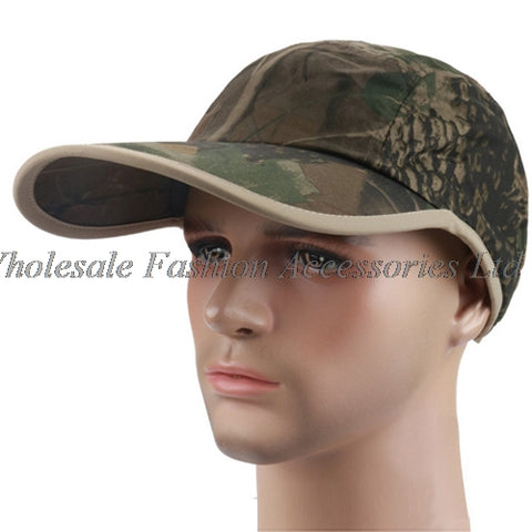 6pcs NEW Forest Camouflage Print Cotton Baseball Hats 2018 Men Ju
