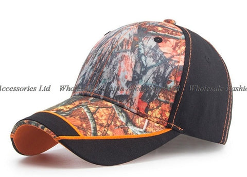 10pcs 2018 NEW Camouflage Baseball Caps for Men Quality Women Cam