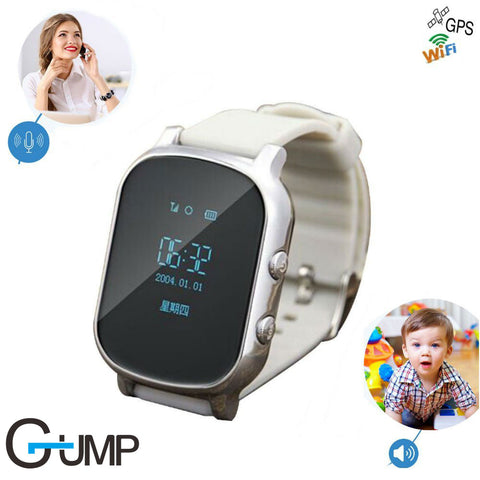 Precise GPS Kids old man Smart Watch T58 support GPS WIFI SOS LBS