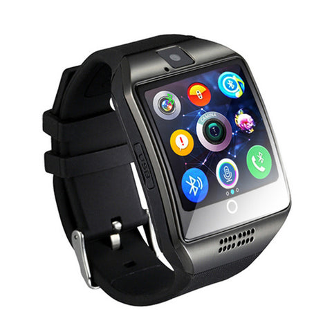Smart Watch Q18 Passometer with Touch Screen camera Support TF ca