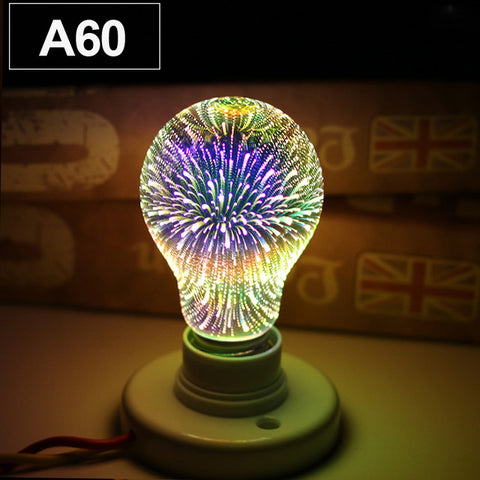 ECO Cat Led Light Bulb 3D Decoration Bulb E27 4W 220-240V Holiday