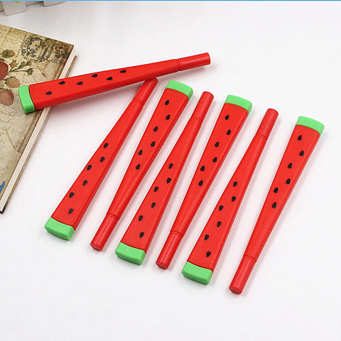 1pcs Cute Kawaii watermelon Gel Pen Writing Signing Pen School Of