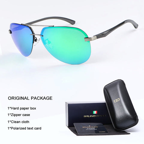Sunglasses Men Women Aviator Polarized 2018 High Quality Luxury B