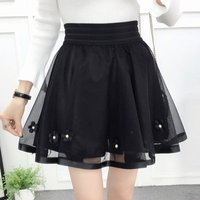 Neploe Above Knee Min Skirt Woman High Waist Skirts 2018 Spring S