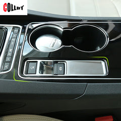 Interior Electronic Handbrake Frame Cover Trim Sticker For Jaguar