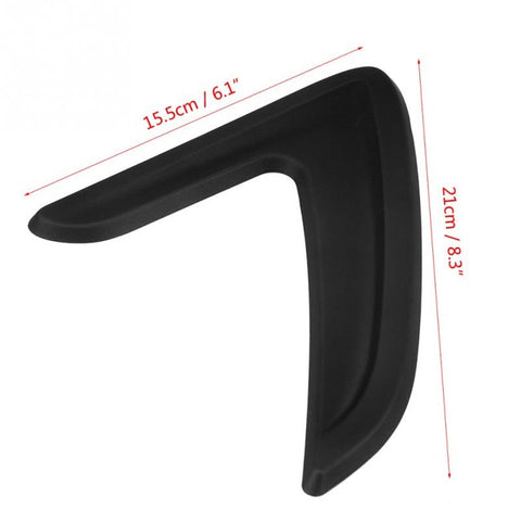 Car Side Air Vent Cover Trim Fender Sticker for BMW 3 Series F30