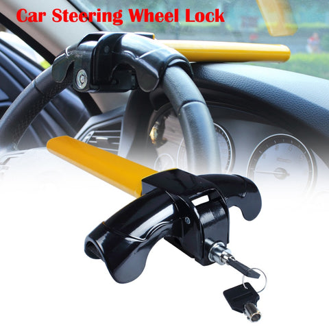 1 X Universal Anti-Theft Car Van Security Steering Wheel Security