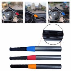 1 X Genuine Car Auto Steering Wheel Locks Baseball Bat Style Defe