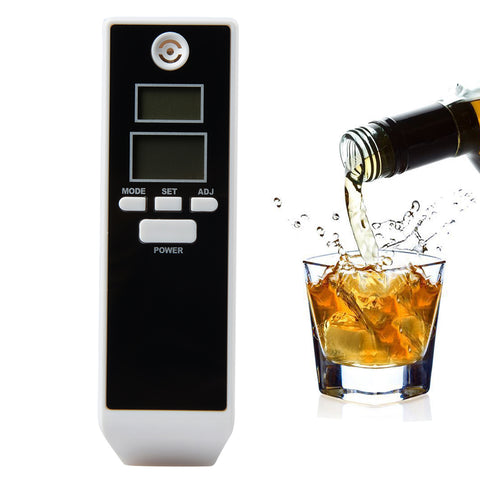 LCD Digital Breathalyzer Prefessional Breath Alcohol Tester Parki