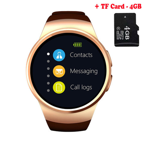 [Genuine] KW26 Bluetooth Smart Watch Phone Full Screen Support SI