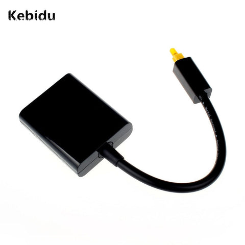 Kebidu Audio&Video Cables Mini USB Digital Toslink Optical Fiber