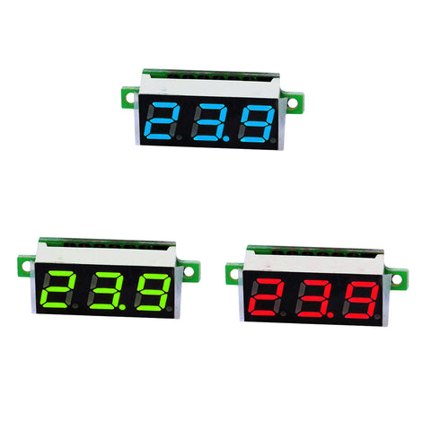 Hot 0.28 Inch 2.5V-30V Mini Digital Voltmeter Voltage Tester Mete