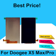 LCD Display Screen Perfect Repair Parts for Doogee X5 Max 5.0 Inc
