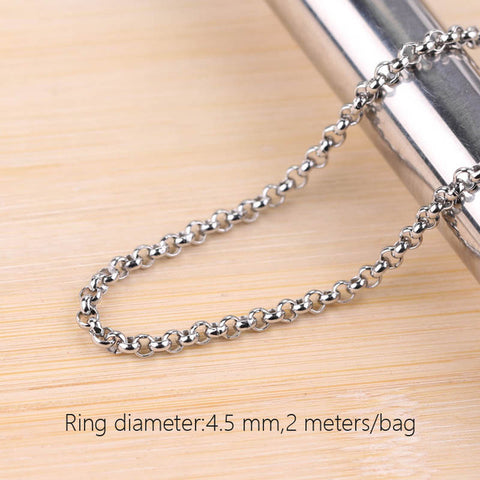 Jewellery Chain of Ring Stainless Steel Chain of Necklace Earring