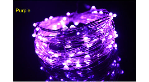 2M 5M LEDs String Lights IP65 Waterproof 3 AA Battery Operated LE