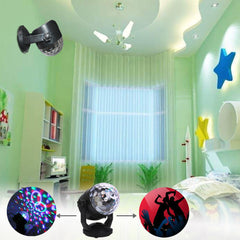 Mini Crystal Ball Lamp Sound Control Led Mobile Charging Mini Las