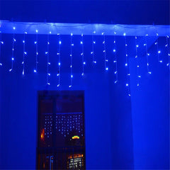 5m*0.4 0.6 0.8m 216 LED Outdoor Christmas LED Curtain icicle Part