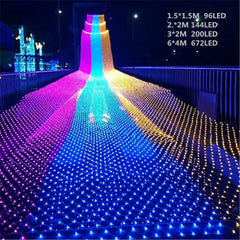 LED Net Light 1.5*1.5M/2*2M/3*2M/6*4M 8 kinds of patterns weaving