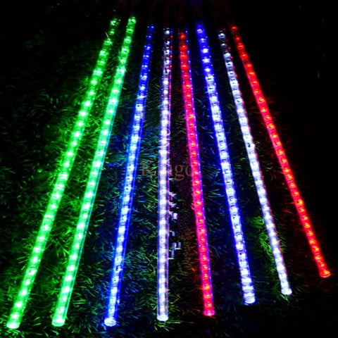 Goog 50cm Meteor Shower Rain Tubes Christmas Lights 8pcs/set 100-