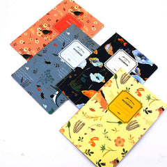 Cute Notebook 32 Page Notepad Diary Journal Nature Animal Plant A
