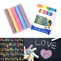 5Pcs/set Quality New Dustless Chalk Pen Drawing Non-Dust Chalks F