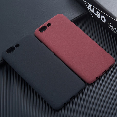 Case For OnePlus 5T One Plus 5T 1+5T Matte Back Covers Soft Dirt Resistant Phone Bag Cases for OnePlus 6 5 One Plus 6 5 1+5 ZGAR