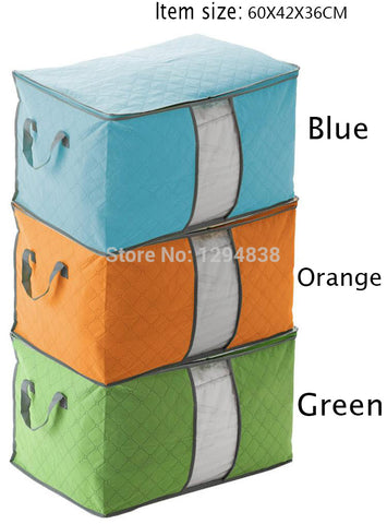 Free Shipping Home Clothing Blanket Storage Boxes Brand Clothes O