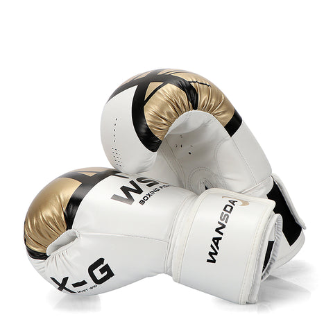 HIGH Quality Adults Women/Men Boxing Gloves Leather