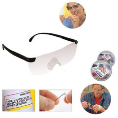 Vision Magnifying Glasses Magnifier Eyewear Reading Glasses 160% Magnification Portable Gift Magnifying glasses For Parents