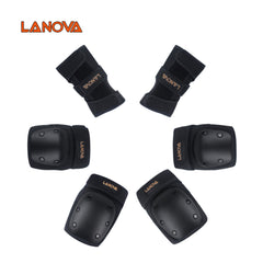 6pcs/set Adults Child Skating Protective Gear Elbow Knee pads wristguard Cycling Skateboard Ice Skating Roller Protector