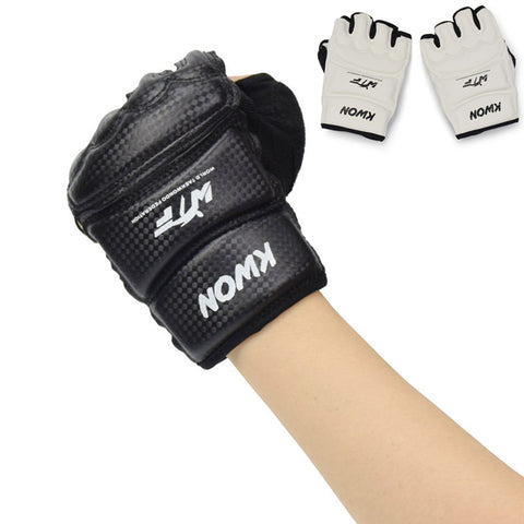 Half Fingers Kids/Adults Sandbag Punch Training Kick Boxing Gloves
