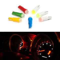 1 Pcs Car Interior T5 Led 1 SMD DC 12V Light Ceramic Dashboard Gauge Instrument Ceramic Car Auto Side Wedge Light Lamp Bulb