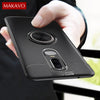 Image of Oneplus 6 Case Rotating Finger Ring Magnetic Car Holder Soft Silicone Back Cover For One Plus 6 Phone Cases Oneplus6