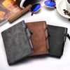Image of 2018 Removable Men Wallet Soft Leather Wallets with Card Slots Multifunction Wallet Purse Male Clutch Top Quality carteira 12cm
