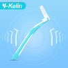 Image of Interdental Brush L-Shaped 0.7mm 10 pieces  orthodontic interdental brush interdental floss brace toothpicks