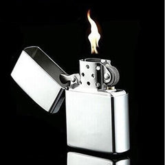 Retro Gasoline Lighter Refillable Cigarette Metal Retro Men Gadgets Bar Lighters Windproof Metal Cigarette Smoking Lighters