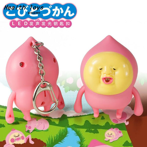 Hot New Cartoon Kobito Dukan figure Toys Pendant action KeyChain Best Gift Action Toy Figures