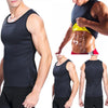 Image of Men Running Vests Weight Loss Cincher Belt Mens Body Shaper Vest Trimmer Tummy Shirt Hot Girdle New Arrival Plus Size 3XL