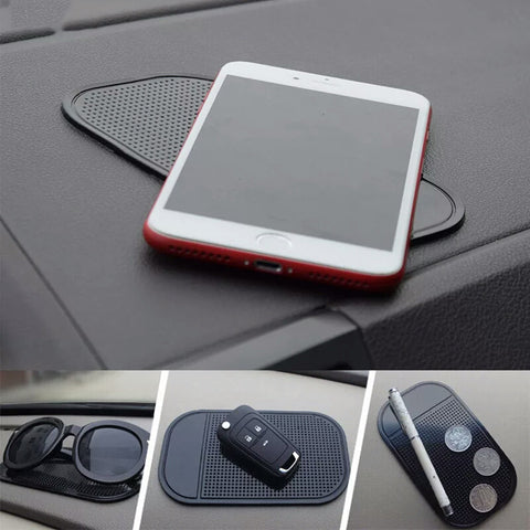 Car Anti Slip Mat For Mobile Phone Sticky Pad GPS Holder Non-slip Mat Silicon Non-slip Mat For Phone Coin Sunglass Holder