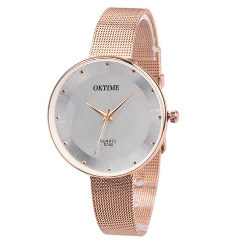 2018 luxury Best Sale ladies wrist watch women bracelet watch creative watches best-seller clock