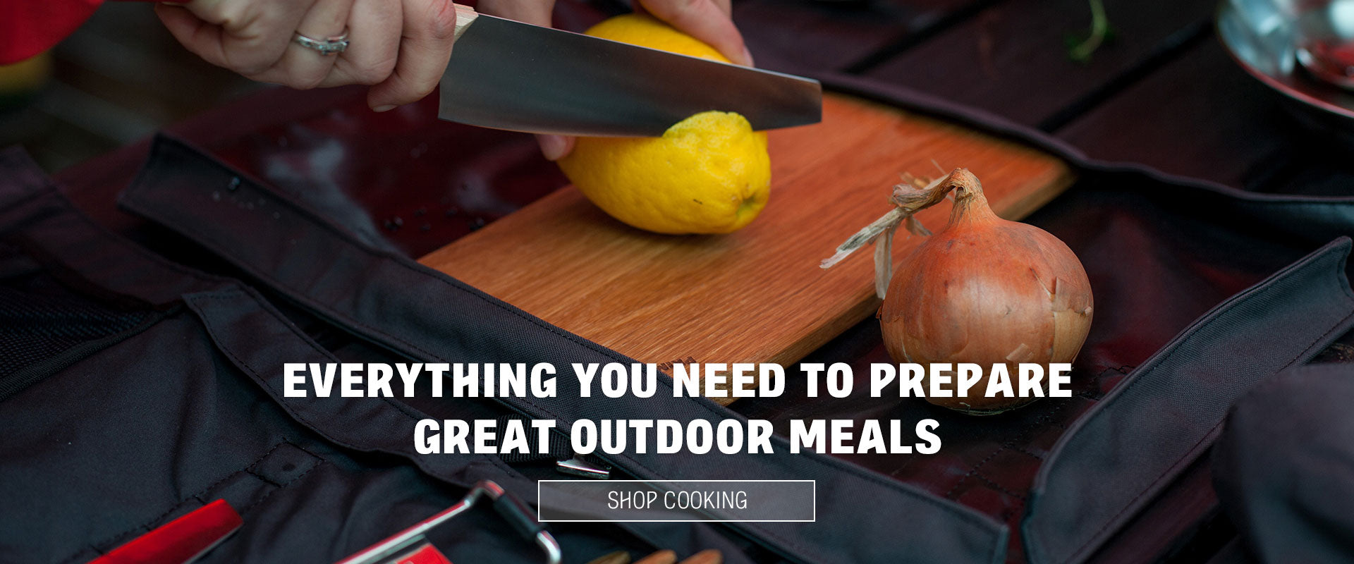 Everything you need to prepare great outdoor meals