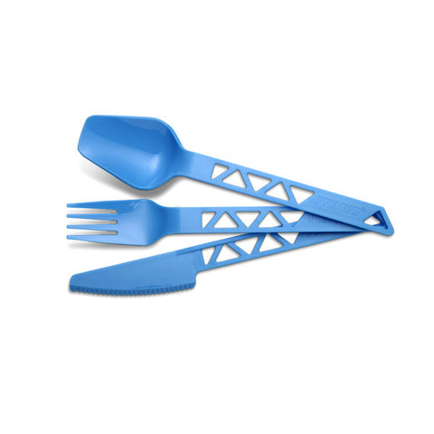 Lightweight TrailCutlery Blue