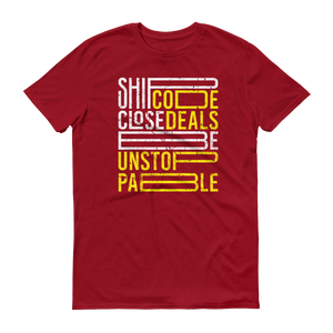 Ship Code Close Deals Be Unstoppable Anvil 980 T-Shirt