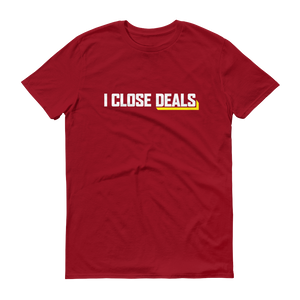 I Close Deals Anvil 980 T-Shirt