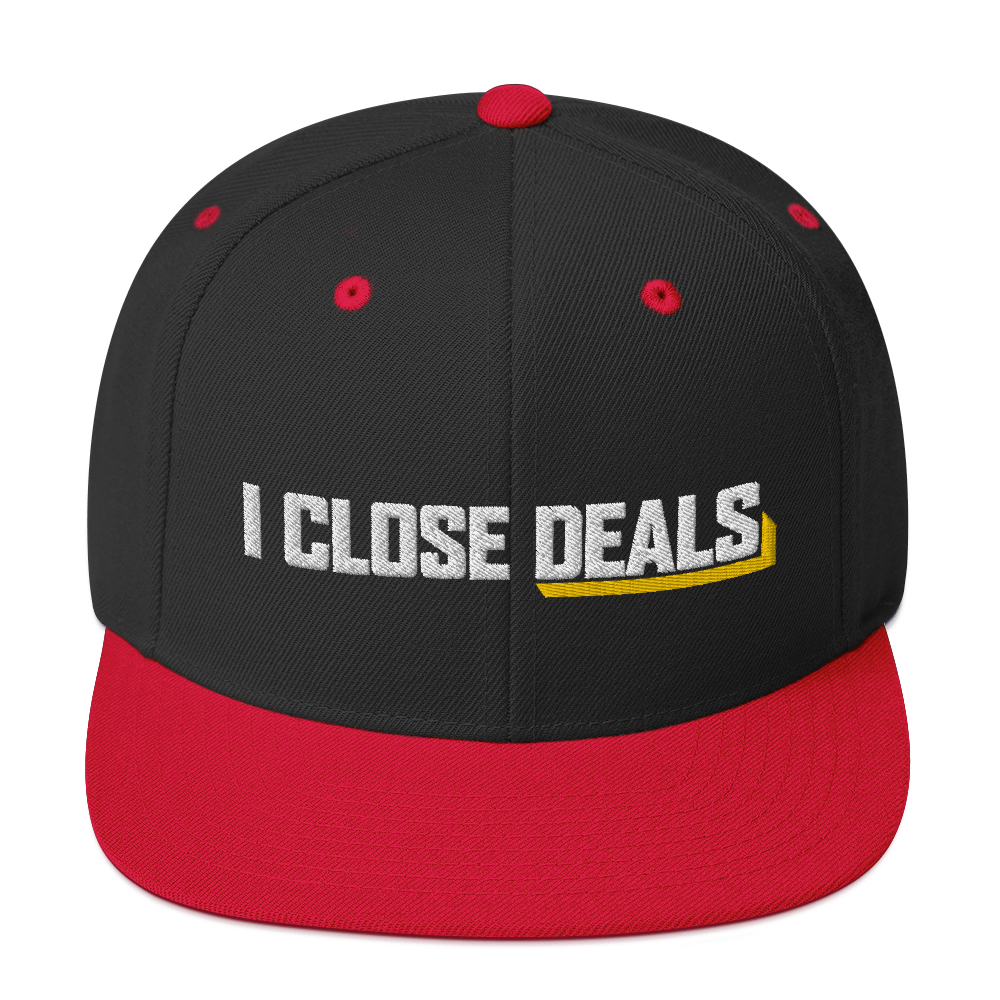 I Close Deals Classic Snapback Hat
